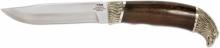 Нож нескладной булатная сталь БИЗОН (6333)б
