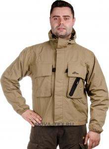 Куртка «Хатанга» (ткань: таслан, цвет: песок) GRAYLING